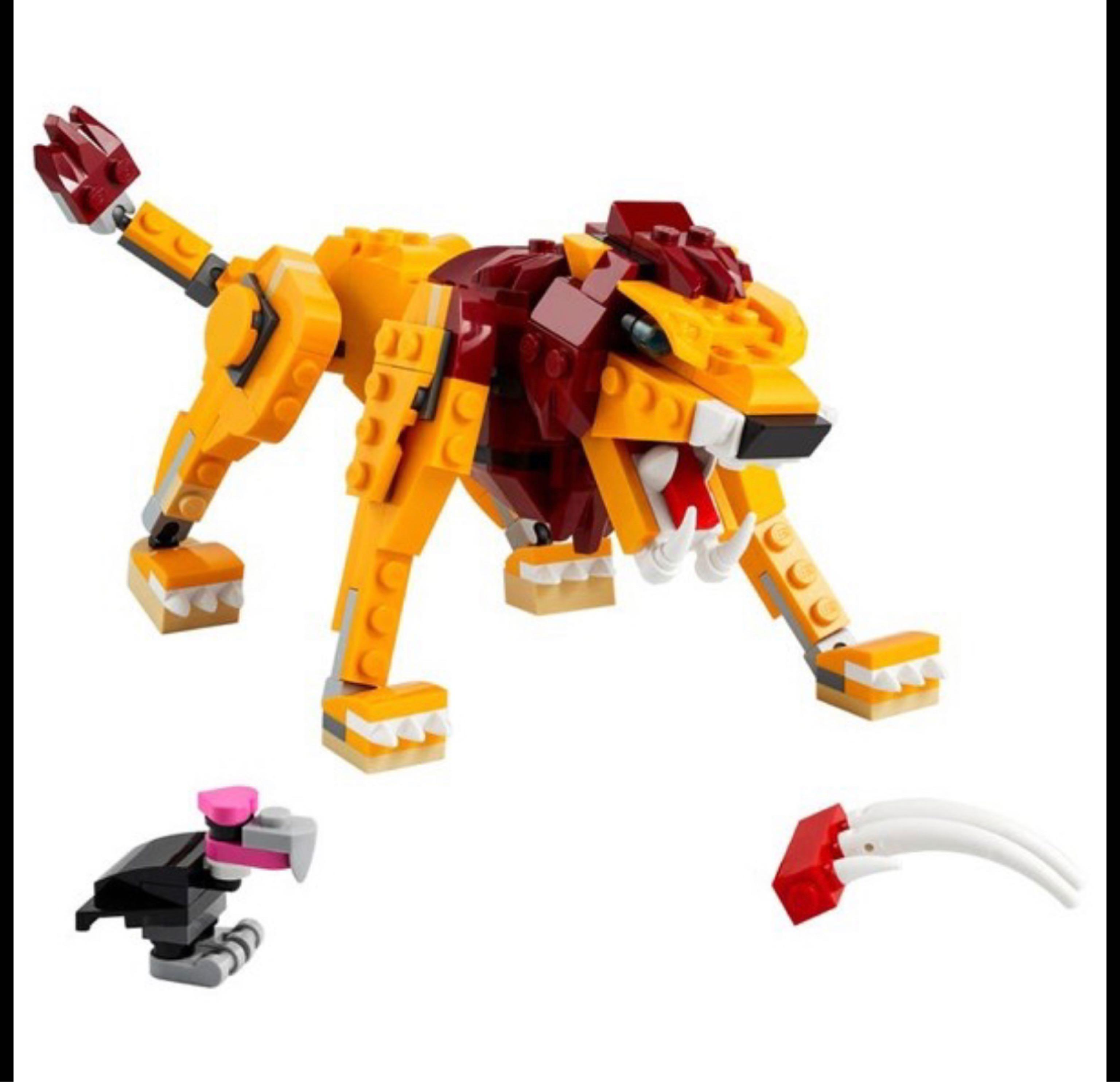 Đồ Chơi Lắp Ráp LEGO 31112 - Wild Lion