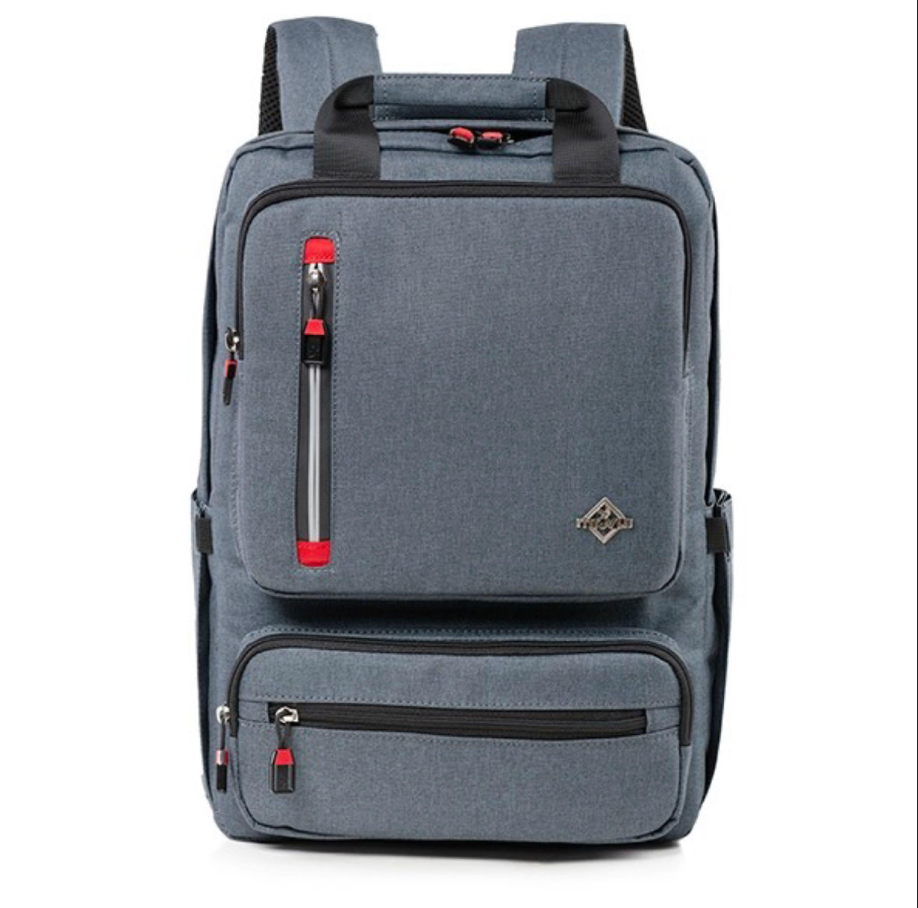 Ba Lô Laptop Mr. Vui BLLT806-15 - nhiều màu