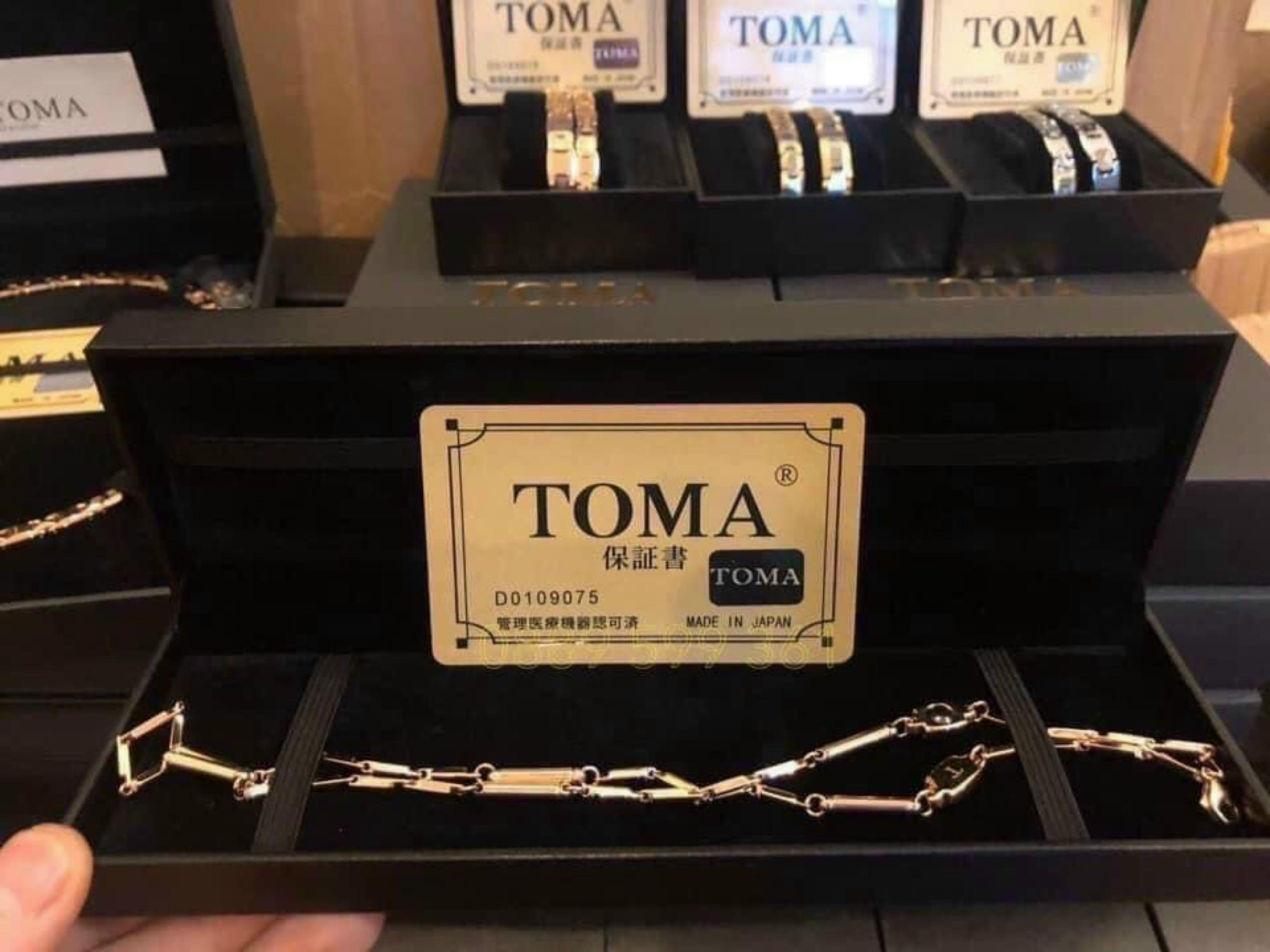 VÒNG ĐIỀU HOÀ HUYẾT ÁP TOMA JAPAN