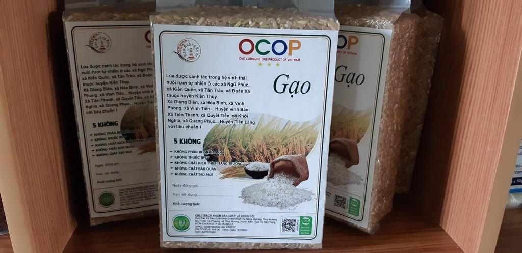 Gạo trắng ruộng rươi Thơm RVT